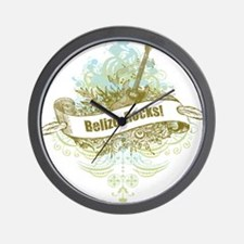 Belize Rocks Wall Clock