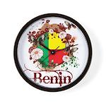 Butterfly Benin Wall Clock