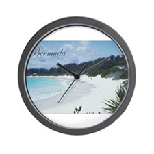 Bermuda Beach Wall Clock