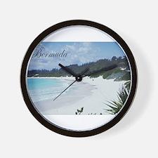 Bermuda Beach Wall Clock