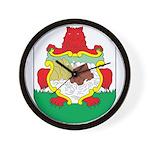 Bermuda Coat Of Arms Wall Clock