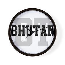 BT Bhutan Wall Clock