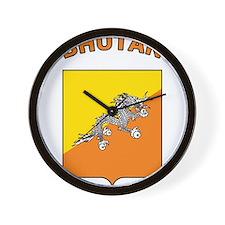 Bhutan Wall Clock