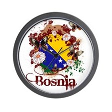 Butterfly Bosnia Wall Clock