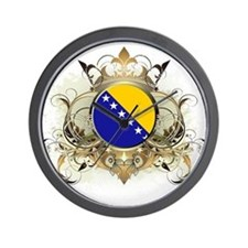 Stylish Bosnia Wall Clock