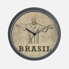 Vintage Christ The Redeemer Wall Clock