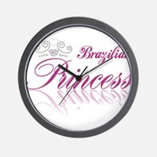 Brazilian Princess Wall Clock