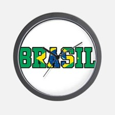 Brasil Wall Clock