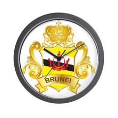 Brunei Wall Clock