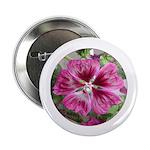 Purple Malva Cluster Button