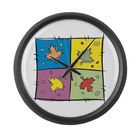 maple canada large wall clock by oneworldgear