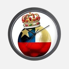Chile Football Champion Wall Clock