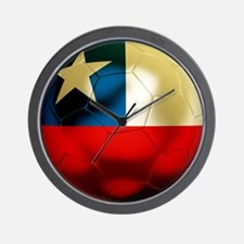 Chile Football Wall Clock
