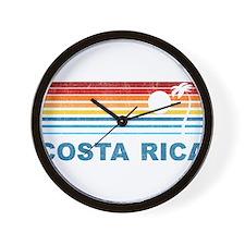 Unique Costa rica Wall Clock