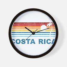 Cute Costa rica Wall Clock