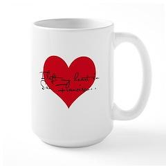 Heart in San Francisco Mug