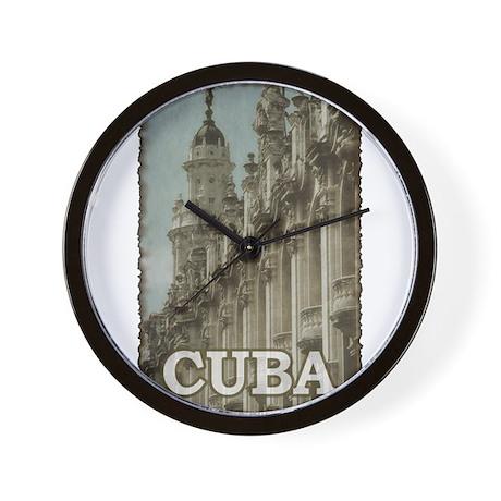 Vintage Cuba Wall Clock