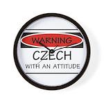 Attitude Czech Wall Clock