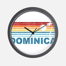 Cute Dominica Wall Clock