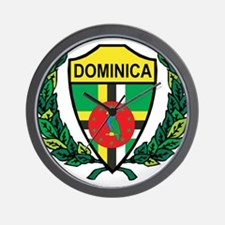 Stylized Dominica Wall Clock