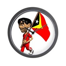 3D East Timor Wall Clock