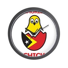 Timorese Chick Wall Clock
