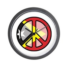 Peace In East Timor Wall Clock