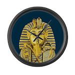 Tutankhamun Large Wall Clock
