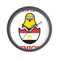 Egyptian Chick Wall Clock