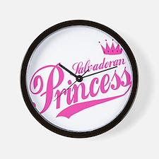 Salvadoran Princess Wall Clock