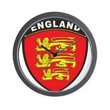 England Wall Clock