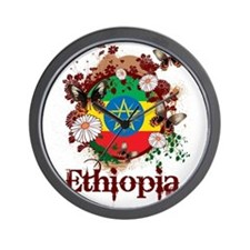 Butterfly Ethiopia Wall Clock