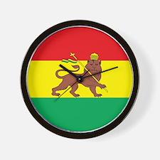 Ethiopia Flag 1897 Wall Clock