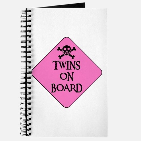 WARNING: TWINS ON BOARD Journal