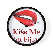 Kiss Fijian Wall Clock