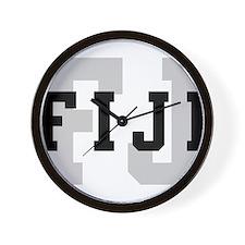 FJ Fiji Wall Clock