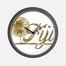 Palm Tree Fiji Wall Clock