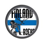 Finland Rocks Wall Clock