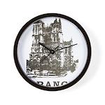Vintage France Wall Clock