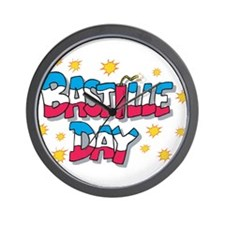 Bastille Day Wall Clock