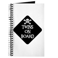 WARNING: TWINS ON BOARD Journal