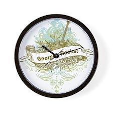Georgia Rocks Wall Clock