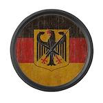 Vintage Germany Flag Large Wall Clock
