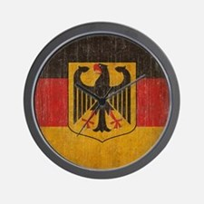 Vintage Germany Flag Wall Clock