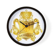 Gold Germany Wall Clock