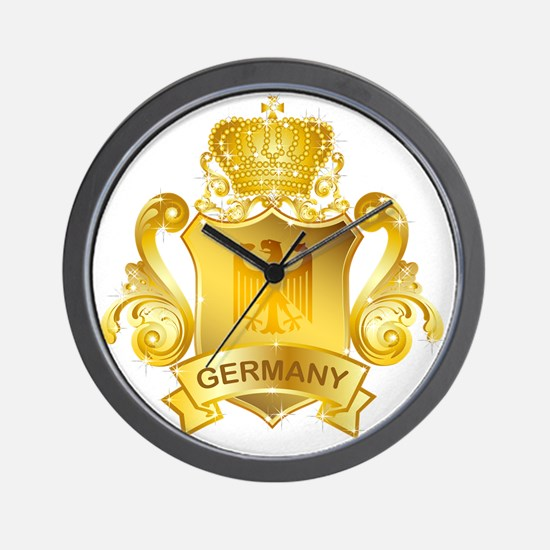 Gold Germany Wall Clock