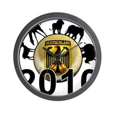 Germany World Cup 2010 Wall Clock