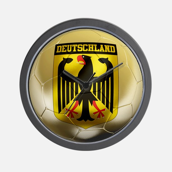 Deutschland Football Wall Clock