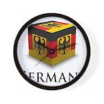 Cube Germany Wall Clock