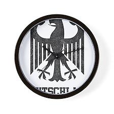 Vintage Deutschland Wall Clock